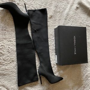 Kendall + Kylie Above Knee Boots